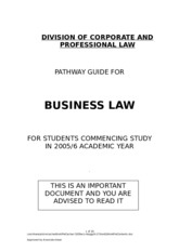 BusinessLaw