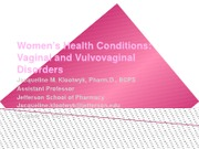 Women's Health Conditions (1)