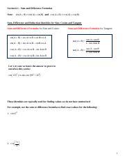 MATH 1330 : Precalculus - UH - Course Hero