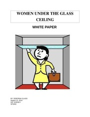 WOMEN UNDER THE GLASS CEILING