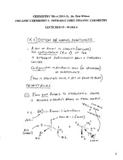CHEM 281 2011-3 Lecture Notes 15 - WEEK 6