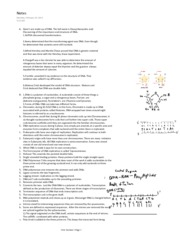 Discussin and understanding Genes Paper and Notes