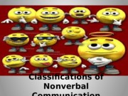 Classifications of Nonverbal Communication F12.pptx