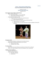 RTF 314 Exam II Notes