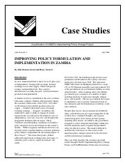 Improving Policy Formulation and Implementation in Zambia.pdf