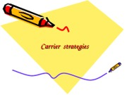 carrier strategy
