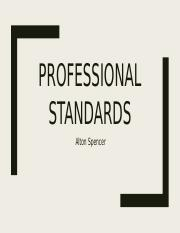 Professional Standards (1)