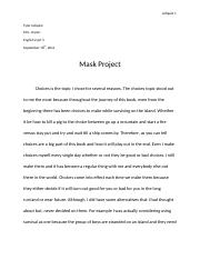 Mask Project.docx