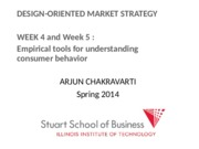 WEEK 4 5 Consumer Value Lecture