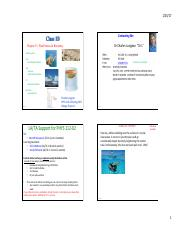 112 Class 1B HydroStatics & Buoyancy CP2 20170125 - Lusignan (4 slides per page BEFORE CLASS)