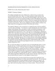 Essay on situation in Burma