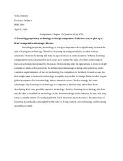 IBM 3001 ch13 assignment.docx