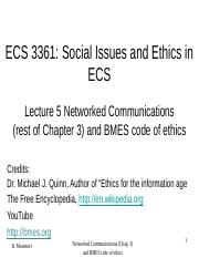 Lect. 5-Chap. 3+ Networked Communications and BMES code of ethics(1).pdf