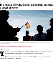 In a month of pride, the gay community becomes a target of terror LA Times.pdf