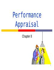 Performance Appraisal_cpt8