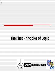 First Principle of Lgic.ppt
