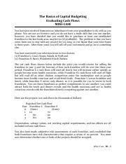 Mini-Case Basics of Capital Budgeting.pdf