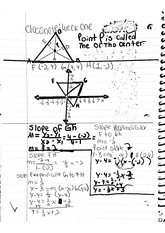 math classnote: Perpendicular Math Problems