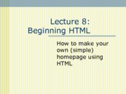 lecture11 html-intro to web design-2013