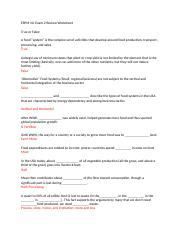 ESPM 10 Exam 2 Answers.docx