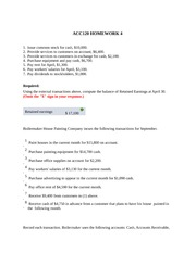 acc 291 principals of accounting ii Here is the best resource for homework help with acc 291 acc/291 :  principles of accounting ii at university of phoenix find acc 291acc/ 291 study.