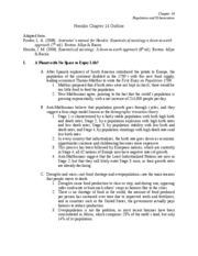 Ch. 14 Notes-Fall 2009