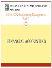 MME 4272 S11617 FINANCIAL ACOUNTING