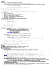 consumer exam 2 cheat sheet