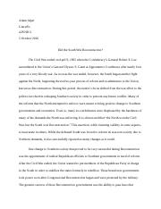 Reconstruction Essay.docx