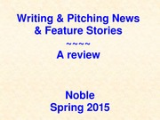 Writing%20%26%20Pitching%20News%20Stories