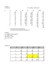ECO 607 - Cost and Demand Worksheet.xlsx