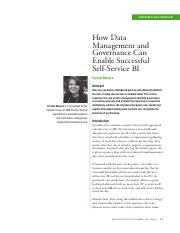 1. How Data Management and Governance Can Enable Successful Self-Service BI.pdf