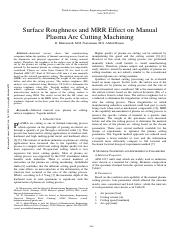 Surface-Roughness-and-MRR-Effect-on-Manual-Plasma-Arc-Cutting-Machining.pdf