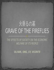 Grave of the Fireflies - Media Log #4