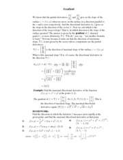 Calculus for Biology Class Notes  9