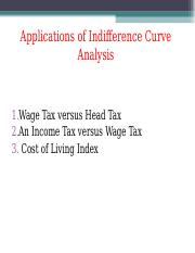6.Applications of Indifference Curve Analysis.ppt