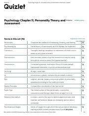Psychology Ch Pdf Psychology Ch 10 11 Test Flashcards Quizlet