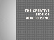 adverlecture24 Creative Side of Advertising
