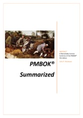 PMBOK-Summarized