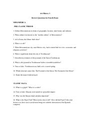 review questions fourth exam art I(1)