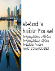 8 ECONTWO - AD-AS and the Equilibrium Price Level.pdf
