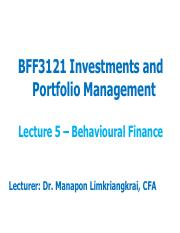 Lecture 5 - Behavioural Finance.pdf