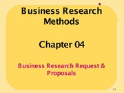 Ch04_BizResearch Request & Proposals