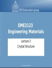Lecture 03 - Crystal Structure_New-My copy