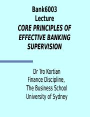 WEEK9 Core Principles of Banking Supervision (student)