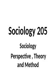 2016 Sociology 205 Chapters 1.pptx