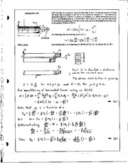 711_Mechanics Homework Mechanics of Materials Solution