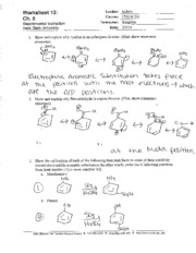 Worksheet 13 Key
