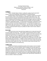 SUMMARY REACTION ESSAY 6
