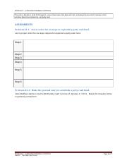 Unit 22 The Petty Cash Fund (Assignment - 6 pages) v4.docx